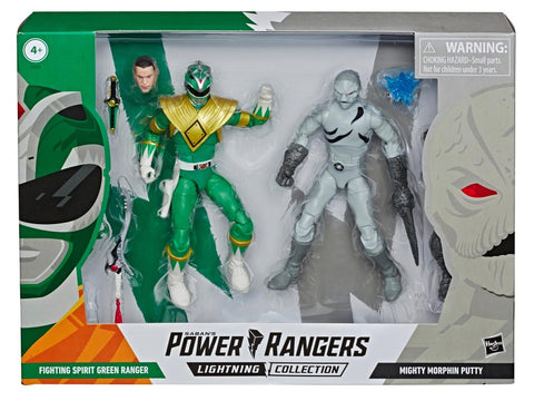Power Rangers - Lightning Collection: Green Ranger Vs Putty HASBRO - TOYBOT IMPORTZ