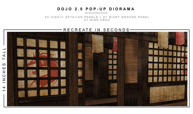 Extreme-Sets - Dojo 2.0 Pop Up Diorama