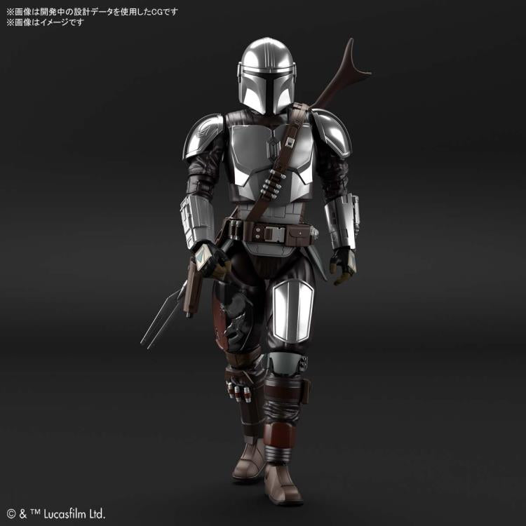 Star Wars - The Mandalorian [Beskar Armor Silver Coating Ver] 1/12 Scale Model Kit
