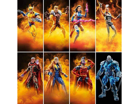 "Marvel Legends - X-Men Apocalypse Wave - 6"" Set of 8 - TOYBOT IMPORTZ"