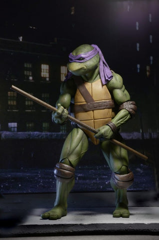 "NECA - TMNT (1990) - 7"" Action Figure Donatello"