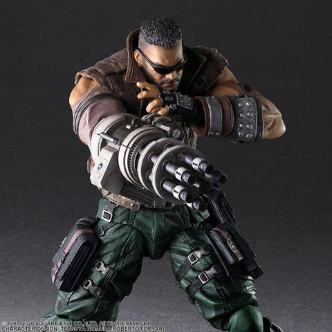 Play Arts Kai - Final Fantasy VII Remake: Barret Wallace [Ver. 2]