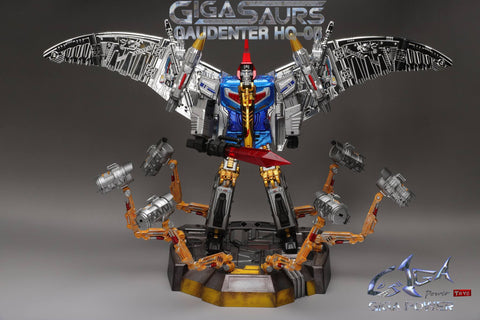 GigaPower - HQ-05R Gaudenter Chrome - TOYBOT IMPORTZ