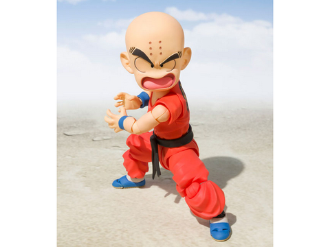 S.H.Figuarts - Dragonball - Krillin (The Early Years) S.H.Figuarts - TOYBOT IMPORTZ