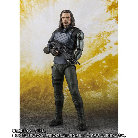 S.H.Figuarts - Avengers :  Infinity War - Bucky - TOYBOT IMPORTZ