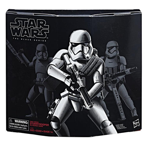 Star Wars - The Black Series: First Order Stormtrooper w/Gear [Exclusive] HASBRO - TOYBOT IMPORTZ