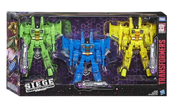 Transformers - WFC: Siege - Voyager Rainmaker Seekers 3 Pack