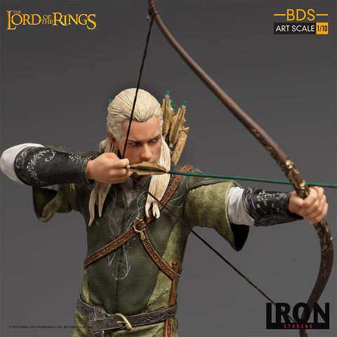 Iron Studios - The Lord Of The Rings: Legolas 1:10 Scale Statue
