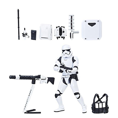 Star Wars - The Black Series: First Order Stormtrooper w/Gear [Exclusive]