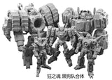 "Iron Factory - IF EX-35 - Merak - Spirits of The ""D.E.C"" *Preorder* - TOYBOT IMPORTZ"
