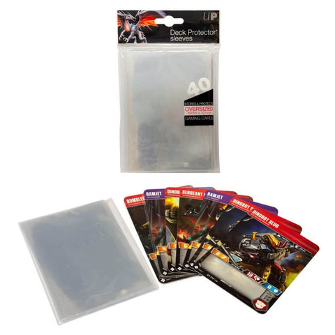 ULTRA PRO - Oversized Clear Top Loading Deck Protector Sleeves
