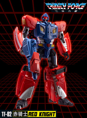 TFC TOYS - Trinity Force - TF-02 - Red Knight