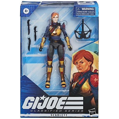 G.I. JOE Classified Series : Scarlett