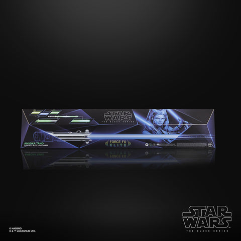 Star Wars - The Black Series: Ahsoka Tano Force FX Elite Lightsaber