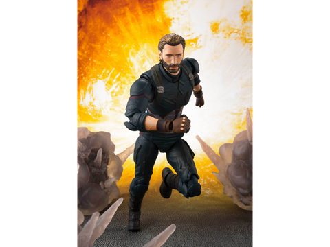 S.H.Figuarts - Avengers :  Infinity War - Captain America w/Tamashii Effect - TOYBOT IMPORTZ