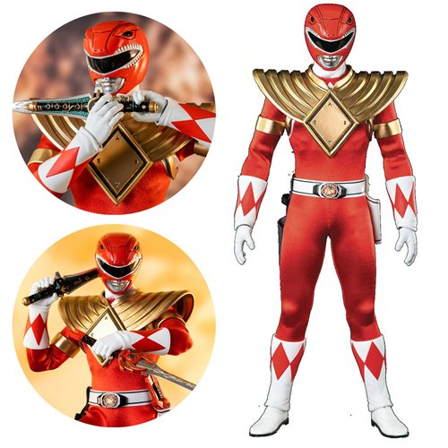 Mighty Morphin Power Rangers:  Dragon Shield Red Ranger 1/6 Scale Figure