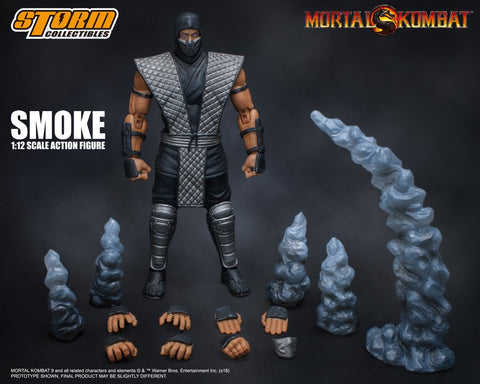 Storm Collectibles - Mortal Kombat Smoke NYCC 2018 Exclusive Storm Collectibles - TOYBOT IMPORTZ