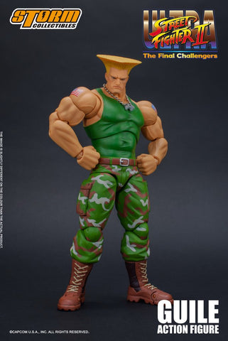 Storm Collectibles - Ultra Street Fighter II: Guile