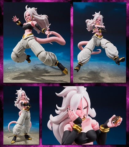 S.H.Figuarts - Dragon Ball FighterZ Android 21