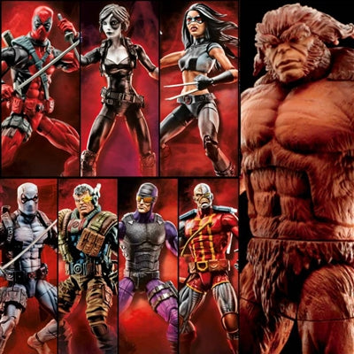 Marvel Legends - Deadpool Wave 1 - Set of 8 HASBRO - TOYBOT IMPORTZ