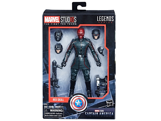 Marvel Legends - MCU 10th Anniversary - Red Skull - TOYBOT IMPORTZ
