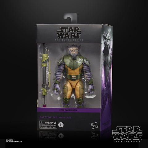 "Star Wars - The Black Series Deluxe: Garazeb ""Zeb"" Orrelios [Rebels]"