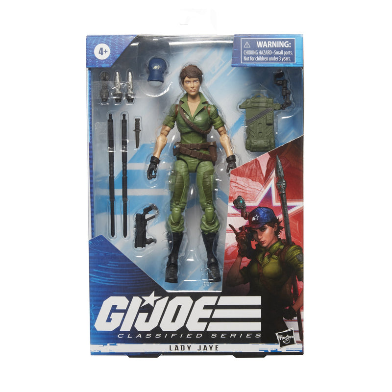 G.I. JOE Classified Series : Lady Jaye