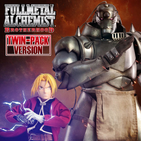 Threezero - Full Metal Alchemist: Brotherhood - Twin Pack