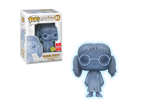 SDCC 2018 Pop! Vinyl - Harry Potter - Moaning Myrtle Translucent - TOYBOT IMPORTZ