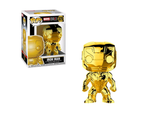 US Exclusive Pop! Vinyl - Marvel Studios 10th Anniversary - Iron Man Gold Chrome Funko - TOYBOT IMPORTZ