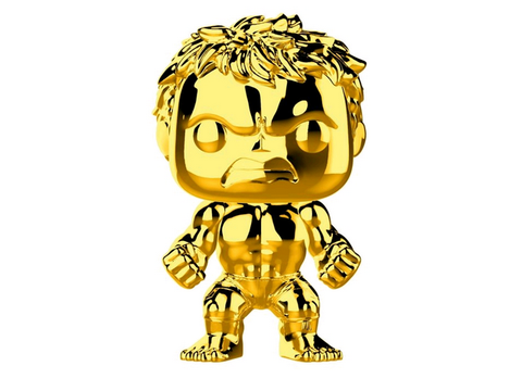 US Exclusive Pop! Vinyl - Marvel Studios 10th Anniversary - Hulk Gold Chrome