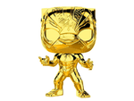 US Exclusive Pop! Vinyl - Marvel Studios 10th Anniversary - Black Panther Gold Chrome