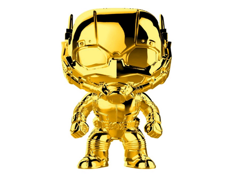 US Exclusive Pop! Vinyl - Marvel Studios 10th Anniversary - Ant-Man Gold Chrome