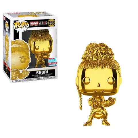 Pop! Vinyl - Shuri Chrome NYCC 2018 Exclusive Funko - TOYBOT IMPORTZ