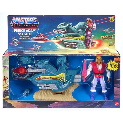 Masters of the Universe - Origins: Prince Adam Sky Sled Vehicle