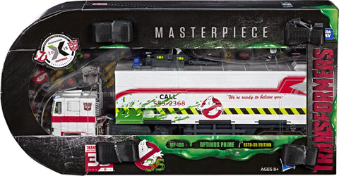 Transformers X Ghostbusters - MP10G Optimus Prime Ecto-35 Edition