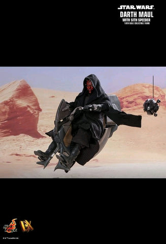 Hot Toys - Star Wars - Darth Maul w/Sith Speeder - Episode I The Phantom Menace - TOYBOT IMPORTZ
