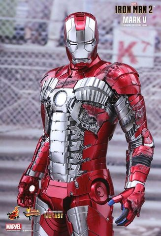 Hot Toys - Iron Man 2 - Mark V Diecast - TOYBOT IMPORTZ