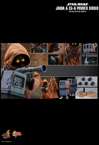 Hot Toys - Star Wars: Jawa & EG-6 Power Droid