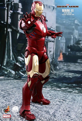Hot Toys - Iron Man - Iron Man Mark III - 1:4 Scale Deluxe - TOYBOT IMPORTZ
