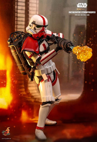 Hot Toys - Star Wars: The Mandalorian - Incinerator Stormtrooper Hot Toys - TOYBOT IMPORTZ