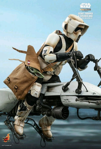 Hot Toys - Star Wars: The Mandalorian Scout Trooper & Speeder Bike