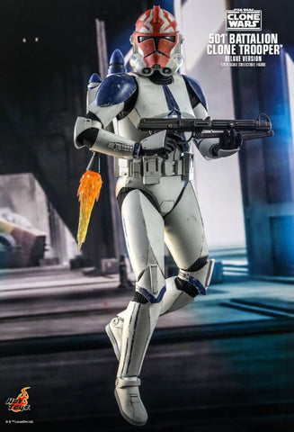 Hot Toys - Star Wars: The Clone Wars - 501st Battalion Clone Trooper [Deluxe]
