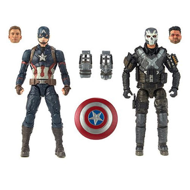 Marvel Legends - MCU 10th Anniversary - Captain America and Crossbones *Preorder*