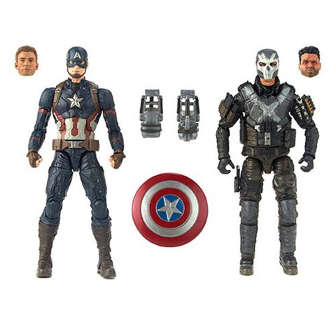 Marvel Legends - MCU 10th Anniversary - Captain America and Crossbones - TOYBOT IMPORTZ