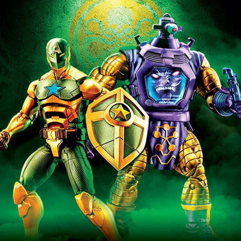 Marvel Legends - Arnim Zola and Supreme Captain America Exclusive - TOYBOT IMPORTZ