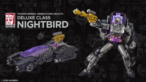 Transformers - Generations Selects: Nightbird [Exclusive] HASBRO - TOYBOT IMPORTZ