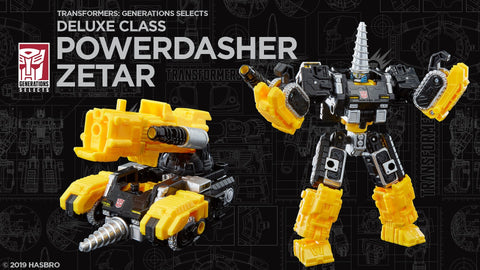 Transformers - Generations Selects: Powerdasher Drill Zetar [Exclusive] HASBRO - TOYBOT IMPORTZ