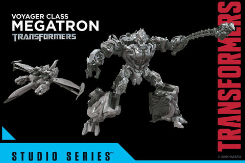Transformers - Studio Series 54: Voyager Megatron [TF Movie 1] HASBRO - TOYBOT IMPORTZ