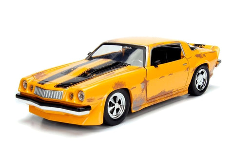 Jada Toys - Transformers: Bumblebee 1977 Chevy Camero 1:24
